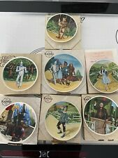 New ListingKnowles Wizard Of Oz Collector Plates - by James Auckland - Set of 7