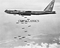 USAF BOEING B-52 BOMBER STRATOFORTRESS 8X10 PHOTO AVIATION VIETNAM WAR AIRPLANE