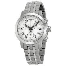 Tissot PRC 200 Chronograph White Dial Ladies Watch T055.217.11.033.00