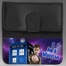 "L@@K! Ladies Doctor Who wallet! David Tennant ""I am a Whovian"" Tardis"