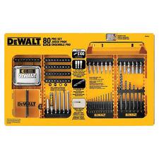 DEWALT 80pc Professional Drill Bit Set DW2587 New