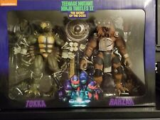 NECA TMNT Tokka and Rahzar Figures. Brand new and factory sealed.