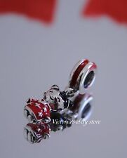 Authentic Pandora Chinese Doll Dangle Charm 791431ENMX