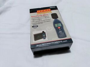 Reed Instruments R8050 Sound Level Meter with Calibration Tool