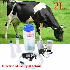 2l Electric Milking Machine Vacuum Pump For Farm Sheep Goat Cow Milkingportable