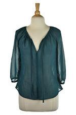 H&M Women Tops Blouses 6 Green N/A