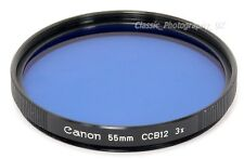 Canon 55mm CCB12 3x Blue Filter for LEICA E55 MINOLTA Canon NIKON Pentax Lenses