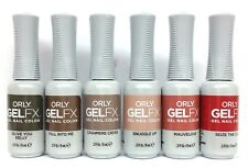 ORLY Gel FX Nail Polish- THE NEW NEUTRAL Collection - 6 colors 3000000-3000005