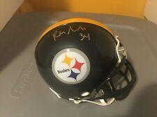 Pittsburgh Steelers Rashard Mendenhall Autographed Mini Helmet