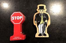 THOMAS the TRAIN FIGURE SIR TOPHAM HATT And STOP SIGN