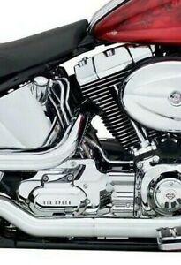 Harley-Davidson Softail Chrome Transmission Interface Cover 66543-08 NEW