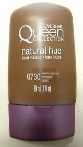 Covergirl Queen Collection Natural Hue Liquid Makeup Q730 Warm Carmel