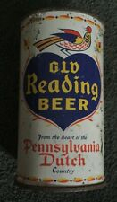 Old Reading Beer From The Heart Of Pennsylvania Dutch Country Flat Top Can Pa