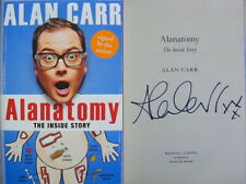 Signed Book Alanatomy by Alan Carr 1st Edition Hdbk 2016 Chattyman Happy Hour