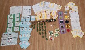 Montessori Early Childhood Educational Lessons (leaf, flower, seed, farm, fruit)