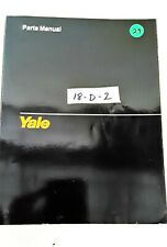Yale MCW-2000, 2500, 3000 and 4000 Pound Forklift Parts Manual