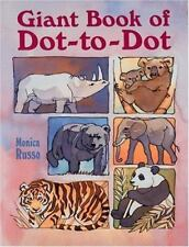 Giant Book of Dot-to-Dot by Monica Russo (1999, Paperback)