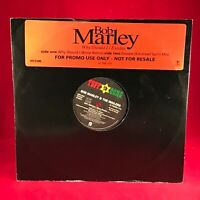"""BOB MARLEY & THE WAILERS Why Should I Exodus 1992 UK promo vinyl 12"""" single EXCE"""