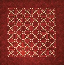New Pieced Quilt Pattern Two Color Throw Twin Full Queen