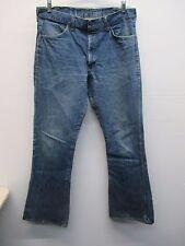Men's Jeans Joint slight flare medium wash blue jeans size 36 long