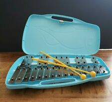 Xylophone (Glockenspiel) 25 Note by Trophy Music Company with Case Blue