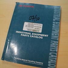 Toyota 7fbcu 7fbchu Series Forklift Parts Manual Book Catalog15 18 20 25 32 30