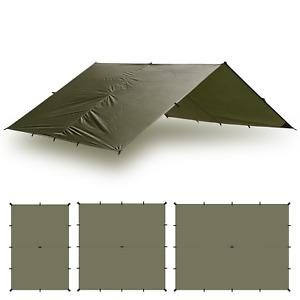 Aqua Quest Guide Tarp 10 x 7 ft Medium Waterproof Tarp - Olive Drab