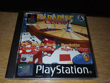 Paradise Casino for Sony PlayStation (PS1) - Complete / Mint Condition
