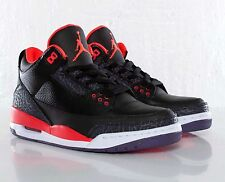 Nike Air Jordan 3 III Retro Crimson Size 8. 136064-005 1 2 3 4 5 6 bred