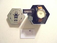 NIXON LTD PRODUCTION LEATHER BAND STAR WARS THE BULLET CLOUD RIDER WATCH - NWT