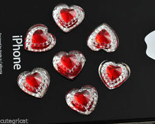 Unbranded Acrylic Heart Jewellery Making Craft Beads
