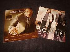 HOUSE MD 2 Emmy ads Hugh Laurie as Dr. Gregory House, Kal Penn 'Bedside Manner'