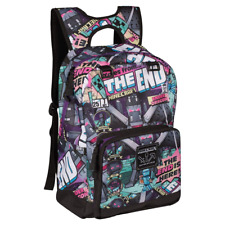"""JINX Minecraft Tales from The End Kids School Backpack, Multi-Colored, 17"""""""