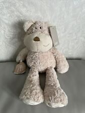 Mamas & and Papas Crumble bear cuddled me when i was sad teddy soft toy Plush