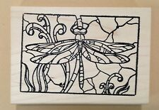 Mounted Rubber Stamps, Dragonfly Stamps, Dragonflies, Nature Stamps, Art Stamps
