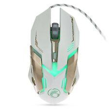 Adjustable 3200DPI Optical LED USB Wired Game Gaming Office Notebook PC Mouse
