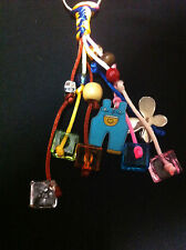 Multicolor HandCrafted Keychains party Favors For Baptism/Baby shower for Boy