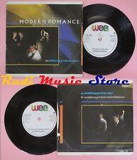 LP 45 7''MODERN ROMANCE Walking in the rain 1983 uk WEA X9733 no cd mc dvd