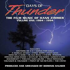 Days Of Thunder The Film Music Of Hans Zimmer Vol. 1 - Dominik Hauser (NEW CD)