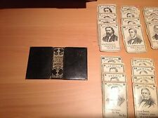 The Authors Improved Card Game, Vintage, Used
