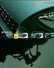Renault Clio Extreme Limited Edition 2002 UK Market Sales Brochure 1.2 1.5 dCi
