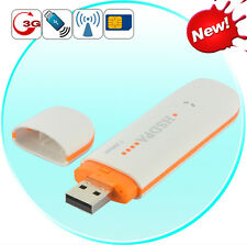 3G USB 2.0 Modem - EDGE 7.2Mbps Wireless HSUPA, Internet for Laptops with SIM