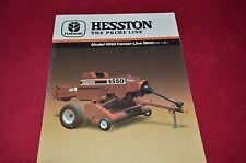 Hesston 4550 Center Line Baler Dealer's Brochure 705500041 LCOH