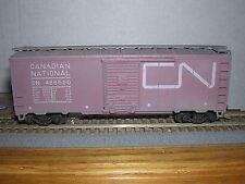 Athearn #1209 Canadian Natl.40' Aar Box Car #486520 Box Car Red Built-up w/Kad.