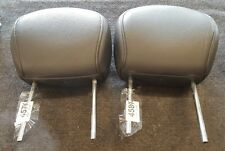 FORD FOCUS MK 1 1998 - 2005 PAIR OF FRONT LEATHER HEAD RESTS   FREE POSTAGE