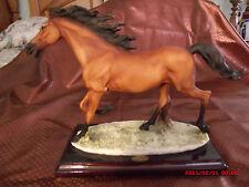 "Rare,Giuseppe Armani ""Trotting Horse"" Figurine #0308C Limited Edit. Figurine New"