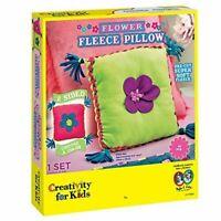 Creativity for Kids - Flower Fleece Pillow Kit