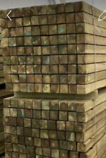 More details for pressure treated timber wooden fence post 100 mm x 100 mm 2.4 m (8ft)
