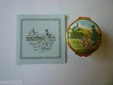 Halcyon Days Mother's Day 1979 enamel box-with Coa