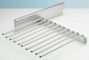 Pullout trouser rack